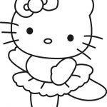 nice Hello Kitty Ballerina Coloring Pages - Coloring Pages