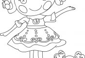 nice Lalaloopsy Cartoon Coloring Pages Check more at wecoloringpage.co...