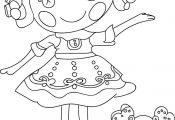 nice Lalaloopsy Cartoon Coloring Pages Check more at wecoloringpage.co...