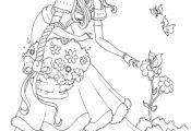 Non-disney Princess Coloring Pages Non-disney Princess Coloring Pages