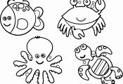 Ocean Animals Coloring Pages Ocean Animals Coloring Pages