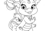 Palace Pets with Princess Coloring Pages Palace Pets with Princess Coloring Pages
