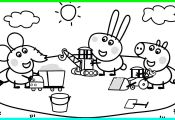 Peppa Pig and Friends Coloring Pages Peppa Pig and Friends Coloring Pages