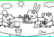 Peppa Pig and Her Friends Coloring Pages Peppa Pig and Her Friends Coloring Pages