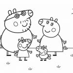 Peppa Pig Characters Coloring Pages Peppa Pig Characters Coloring Pages