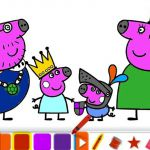 Peppa Pig Coloring Book Nick Jr Peppa Pig Coloring Book Nick Jr