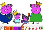 Peppa Pig Coloring Book Nick Jr Peppa Pig Coloring Book Nick Jr