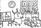 Peppa Pig Coloring Book Youtube Peppa Pig Coloring Book Youtube