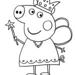 Peppa Pig Coloring In Pages Peppa Pig Coloring In Pages