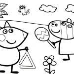 Peppa Pig Coloring Pages Preschool Peppa Pig Coloring Pages Preschool