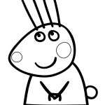Peppa Pig Coloring Pages Rebecca Rabbit Peppa Pig Coloring Pages Rebecca Rabbit