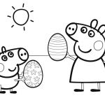 Peppa Pig Coloring Pages Swimming Peppa Pig Coloring Pages Swimming