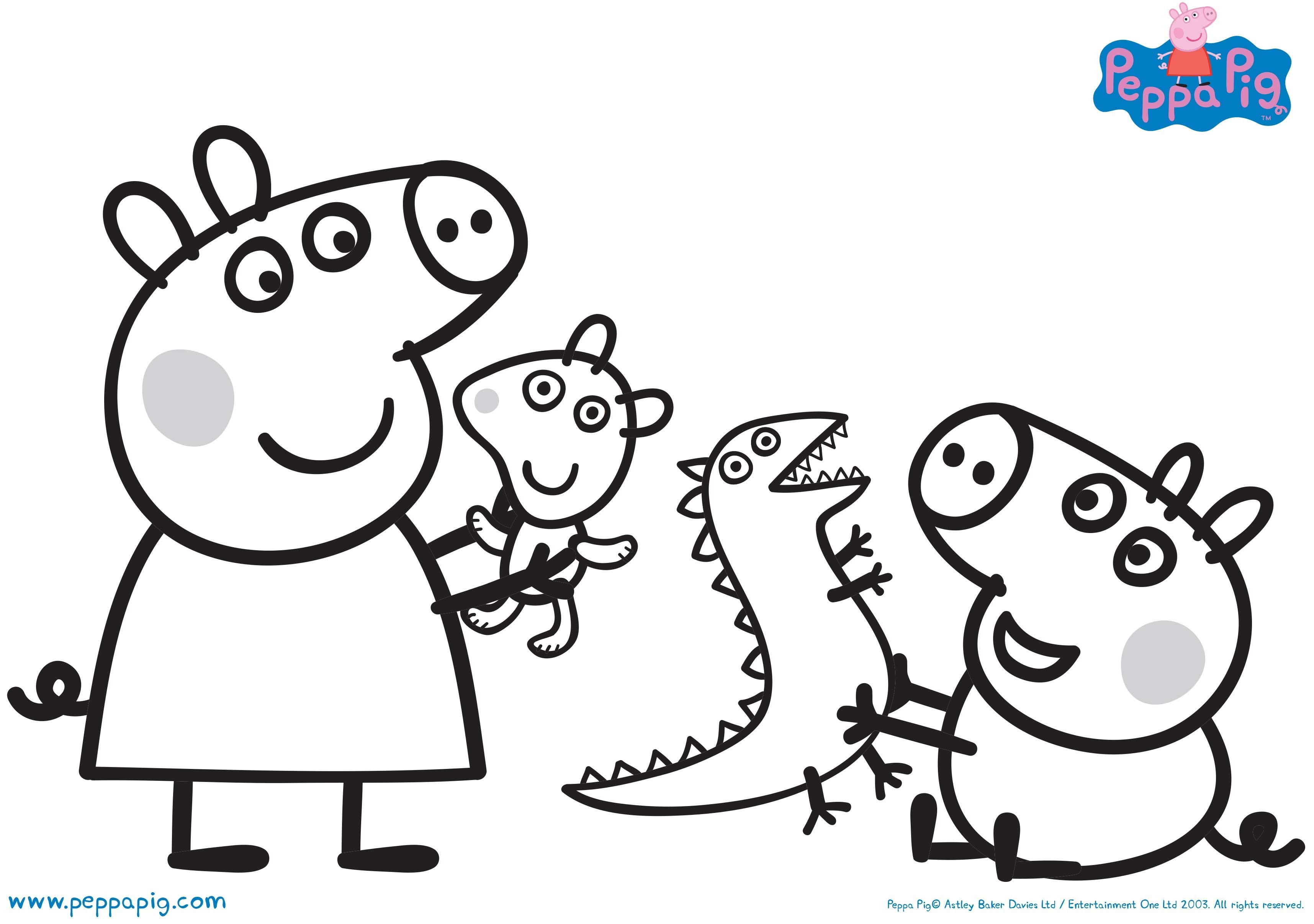 Peppa pig colouring pages uk bubakids peppa pig colouring pages uk wallpaper details maxwellsz