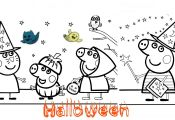Peppa Pig Halloween Coloring Book Peppa Pig Halloween Coloring Book