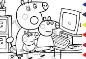 Peppa Pig Voving Coloring Book Peppa Pig Voving Coloring Book