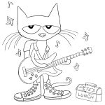 Pete the Cat Coloring Pages Pete the Cat Coloring Pages
