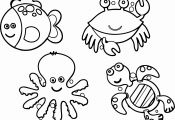 Pictures Of Ocean Animals to Color Pictures Of Ocean Animals to Color