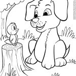 Pictures Of Puppies and Kittens to Color Pictures Of Puppies and Kittens to Color