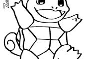 Pikachu and Squirtle Coloring Page Pikachu and Squirtle Coloring Page
