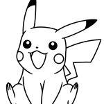 Pikachu Coloring Page Pdf Pikachu Coloring Page Pdf