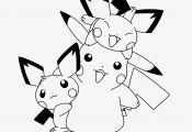 Pikachu Family Coloring Pages Pikachu Family Coloring Pages