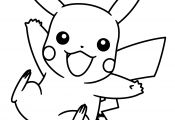Pikachu Rockstar Coloring Pages Pikachu Rockstar Coloring Pages