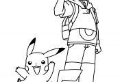 Pokemon ash Ketchum Coloring Page Pokemon ash Ketchum Coloring Page