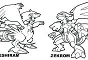 Pokemon Black and White Coloring Pages Legendary Pokemon Black and White Coloring Pages Legendary