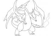Pokemon Charizard Coloring Pokemon Charizard Coloring