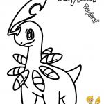 Pokemon Chikorita Coloring Pages Pokemon Chikorita Coloring Pages
