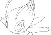 Pokemon Coloring Pages Celebi Pokemon Coloring Pages Celebi