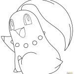 Pokemon Coloring Pages Chikorita Pokemon Coloring Pages Chikorita
