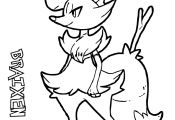 Pokemon Coloring Pages Delphox Pokemon Coloring Pages Delphox
