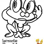 Pokemon Coloring Pages Froakie Pokemon Coloring Pages Froakie