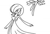 Pokemon Coloring Pages Gardevoir Pokemon Coloring Pages Gardevoir