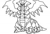 Pokemon Coloring Pages Giratina Pokemon Coloring Pages Giratina