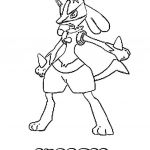 Pokemon Coloring Pages Lucario Pokemon Coloring Pages Lucario