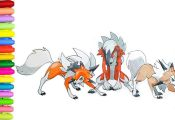 Pokemon Coloring Pages Lycanroc Pokemon Coloring Pages Lycanroc