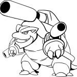 Pokemon Coloring Pages Mega Blastoise Pokemon Coloring Pages Mega Blastoise