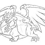 Pokemon Coloring Pages Mega Charizard X Pokemon Coloring Pages Mega Charizard X