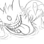 Pokemon Coloring Pages Mega Gengar Pokemon Coloring Pages Mega Gengar