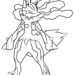 Pokemon Coloring Pages Mega Lucario Pokemon Coloring Pages Mega Lucario