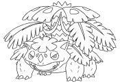 Pokemon Coloring Pages Mega Venusaur Pokemon Coloring Pages Mega Venusaur