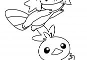 Pokemon Coloring Pages Mudkip Pokemon Coloring Pages Mudkip