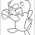 Pokemon Coloring Pages Oshawott Pokemon Coloring Pages Oshawott