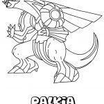 Pokemon Coloring Pages Palkia Pokemon Coloring Pages Palkia