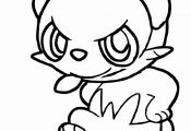 Pokemon Coloring Pages Pancham Pokemon Coloring Pages Pancham