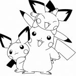 Pokemon Coloring Pages Pichu Pokemon Coloring Pages Pichu