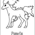 Pokemon Coloring Pages Ponyta Pokemon Coloring Pages Ponyta