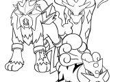 Pokemon Coloring Pages Raikou Pokemon Coloring Pages Raikou